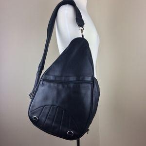 Leather Backpack Shoulder Bag